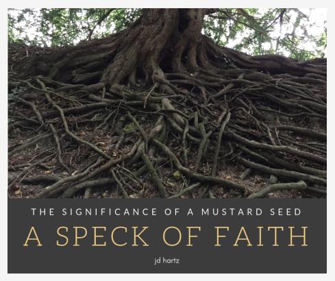 A speck of faith