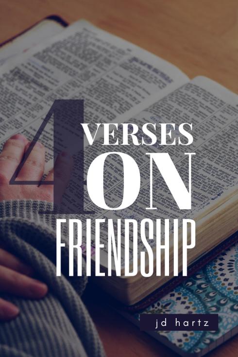 4 Verses Friendship