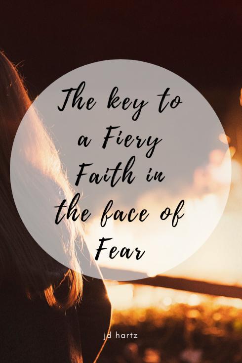 Fiery Faith Part 1 Pin